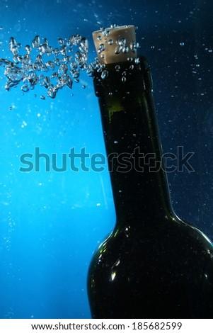 wine bottle neck