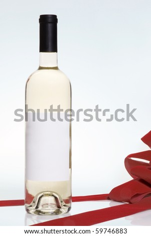 wine bottle present
