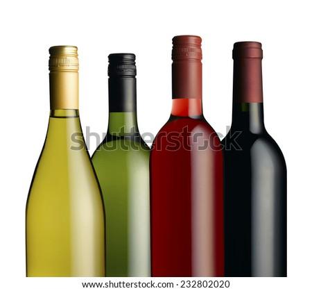 Wine bottle's in a group #232802020