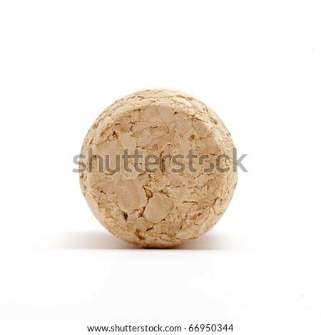 wine cork front