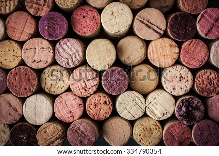wine corks background horizontal