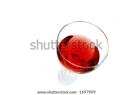 wine glass from above #1697909