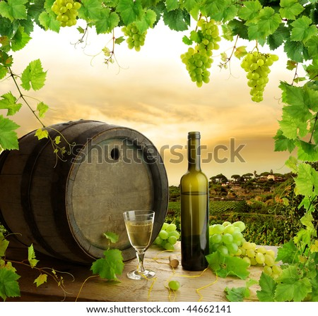 Wine, grapes and grapevine composition in vineyard