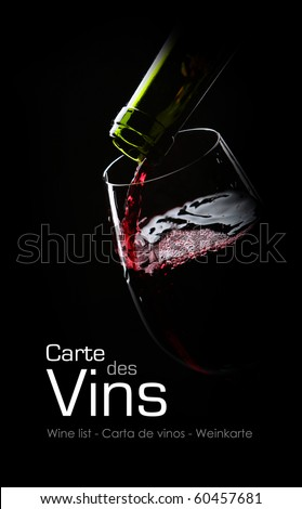 Wine list Stockfoto ©