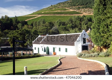 wine route in south africa
