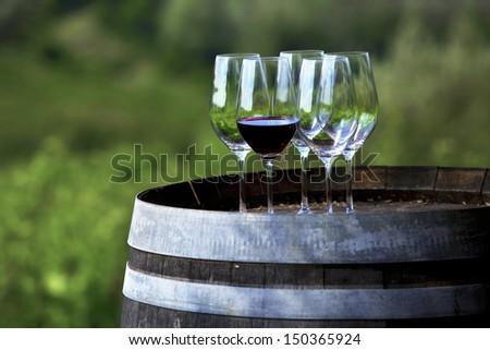 wine tasting, Chianti, Tuscany, Italy