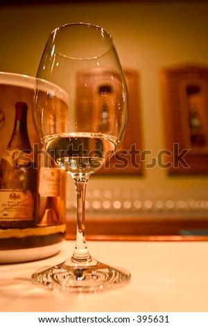 Wine tasting tour in St. Michelle vinery, Washington, USA