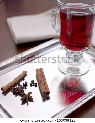 Wine with spices