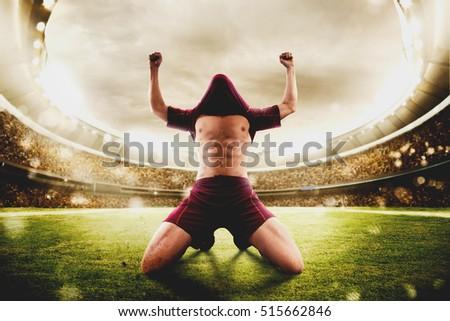 Winner football #515662846