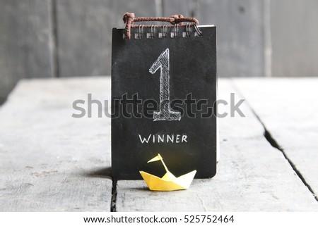 Winner, number one #525752464