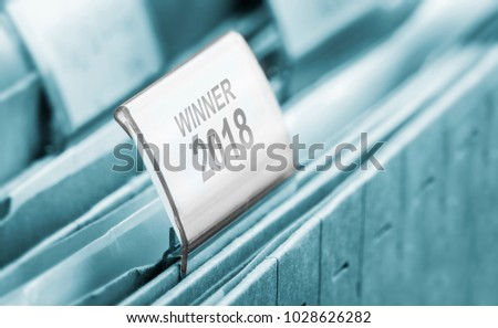 winner 2018 symbol #1028626282