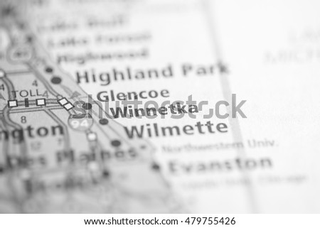Winnetka. Illinois. USA Zdjęcia stock ©