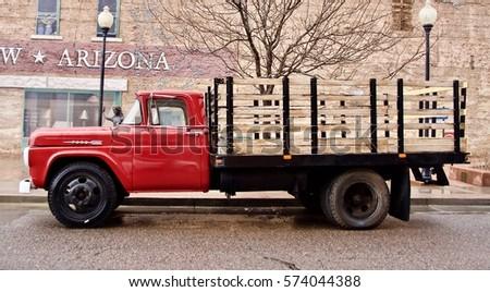 winslow arizona usa  january 14 ...