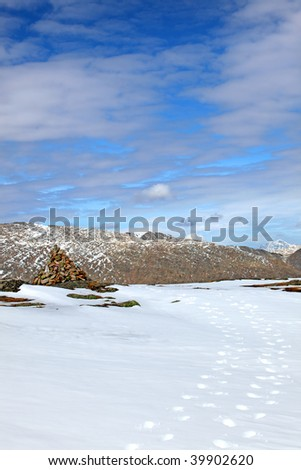 winter altai landscape of the day