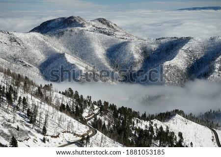 Winter at Ski Apache, New Mexico