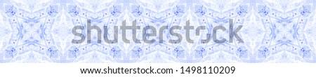 Winter Background. Seamless Winter Mexican Artisan Design. Rhombus Ornament. Mexican Artisan Design. Retro Ikat Ornament. Boho Ogee Pattern. Batik Watercolor.