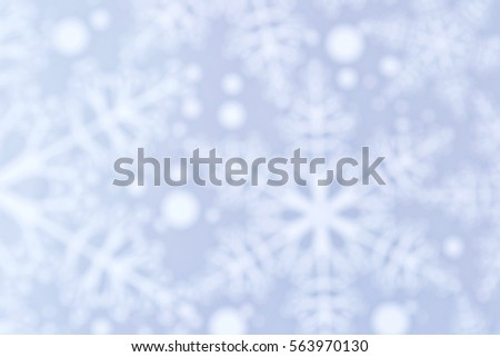 Winter blue background with snowflakes #563970130