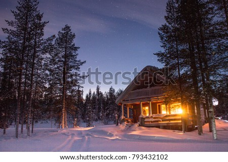 Winter cabin - Lapland