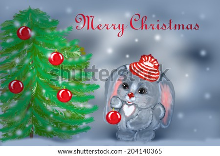 http://www.shutterstock.com/ru/pic-204140365/stock-photo-winter-card-with-snowflakes-and-new-year-s-hare.html?src=xVasDgIjCVw_zlUq1O79gQ-1-53