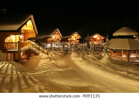 Winter Chalet Community