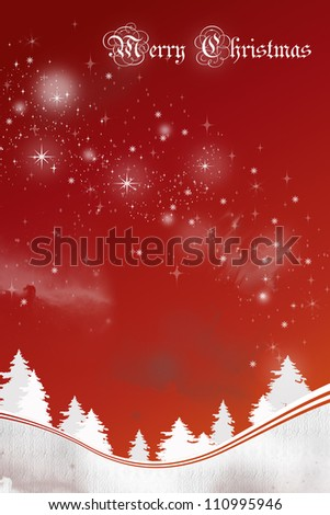 Winter/Christmas Background