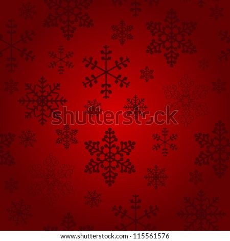 Winter christmas new year seamless pattern /beautiful texture with snowflakes Raster version