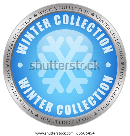 Winter collection icon