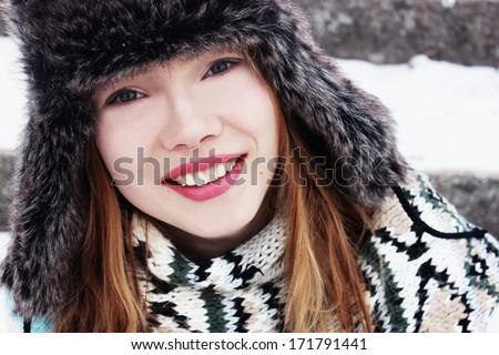Winter girl or Winter fashion