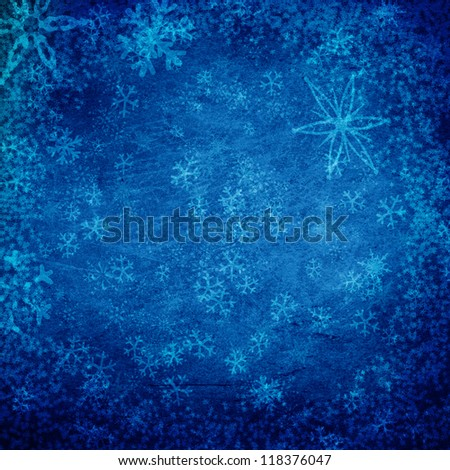 winter grunge texture background