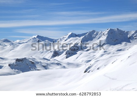 Winter in Alps (Tignes, France) #628792853