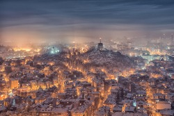 winter in Plovdiv Bulgaria European capital of culture 2019