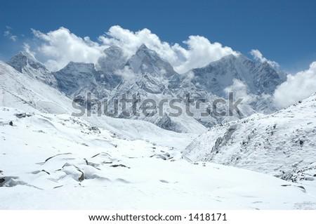 Winter in the Himalaya