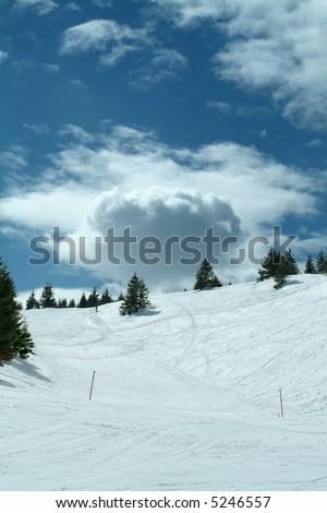 Winter landscape, Kopaonik, Serbia