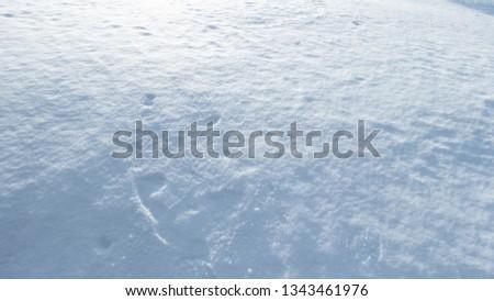 winter minimalistic landscape #1343461976
