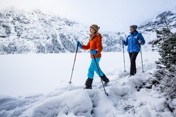 Winter mountain hike - Morskie Oko, Tatra Mountains, Poland