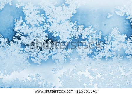 winter rime background #115381543