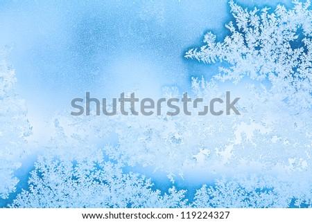 winter rime background #119224327