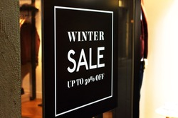 Winter sale. Find the bargain.
