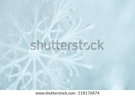 Winter Snow Background.Snowflakes