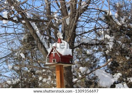 Winter snow scenes #1309356697