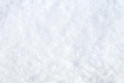 Winter snow. Snow texture Top view of the snow. Texture for design. Snowy white texture. Snowflakes.