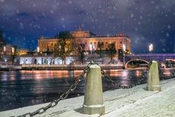 Winter Stockholm. Sweden