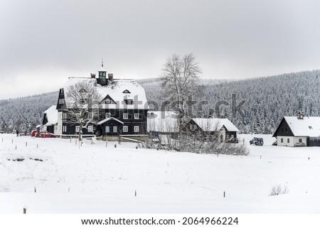 Winter time in Jizera Mountains