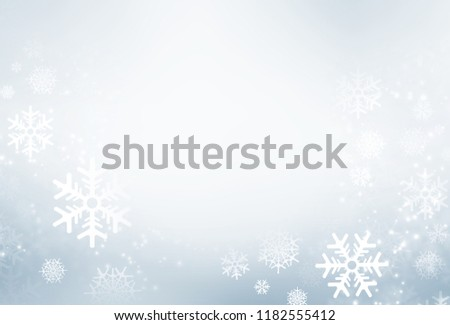 Winter white and grey texture background. Christmas holiday design.