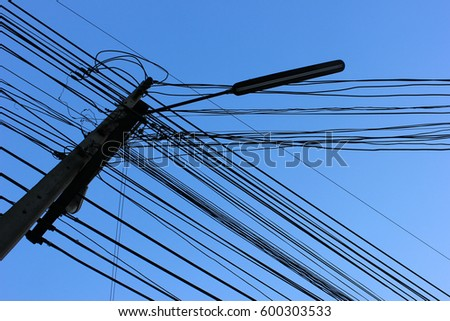 wire and column #600303533
