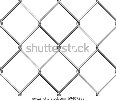 Wire Fence Seamless