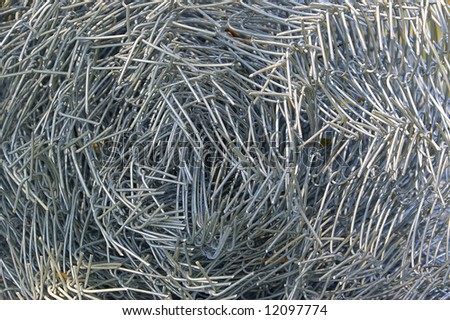 Wire netting background