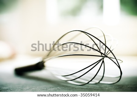 Wire Whisk - stock photo