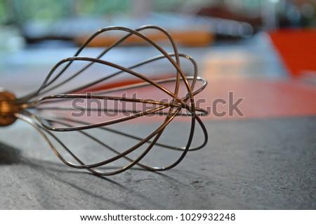 Wire Whisk, Kitchen Utensil #1029932248