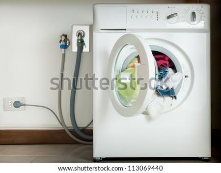 wired washing machine